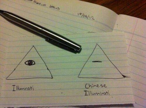 Otros - En Asia también tienen sus Illuminatis