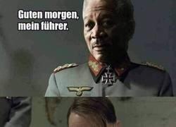 Enlace a Si Hitler y Morgan Freeman hubieran coincidido...