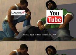 Enlace a Cuando descubres que loquendo ya no es bienvenido en youtube