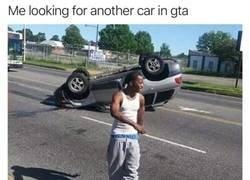 Enlace a Buscando otro coche como si nada hubiera pasado