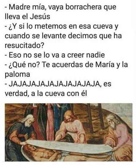 borrachera,Jesús,religión,resurrección