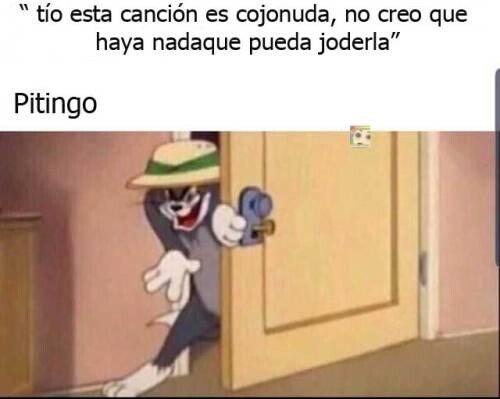 Meme_otros - Todo un reto para Pitingo