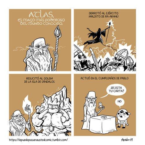 Meme_otros - El mago que superó asombrosas aventuras