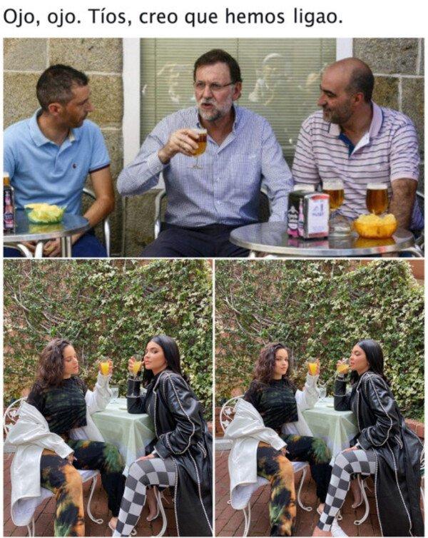 Otros - Es la Rosalía la que elije al vecino...