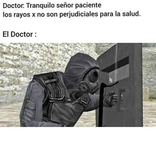 Meme_otros - Para no ser dañino va usted muy protegido, doctor