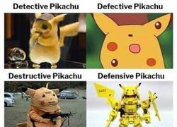 Enlace a Las diferentes facetas de Pikachu