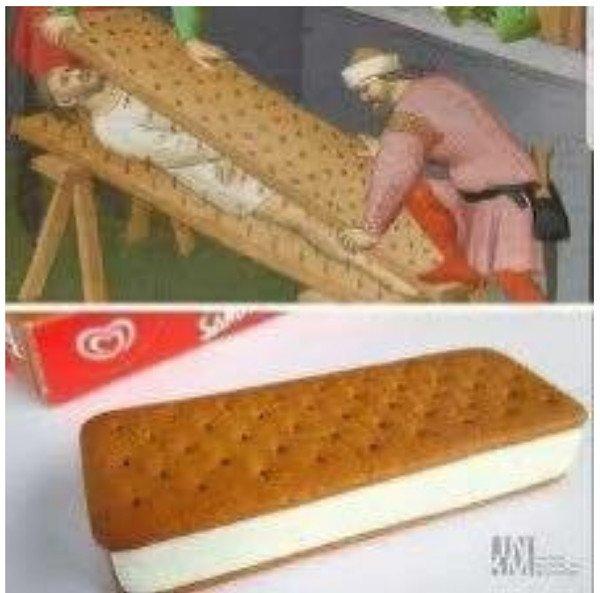 Otros - Y así se crearon los helados Sandwich