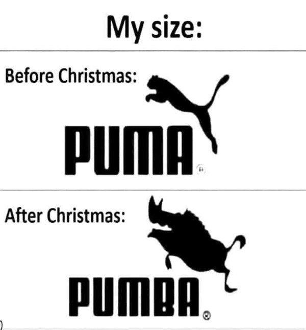 Otros - Mi talla antes y después de Navidad