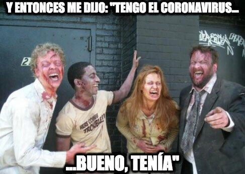 Zombie - Es el chiste del momento entre los muertos