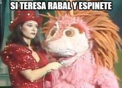 Enlace a El hijo de Teresa Rabal y Espinete si lo hubieran tenido juntos...