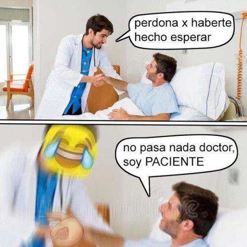 Meme_otros - El paciente paciente