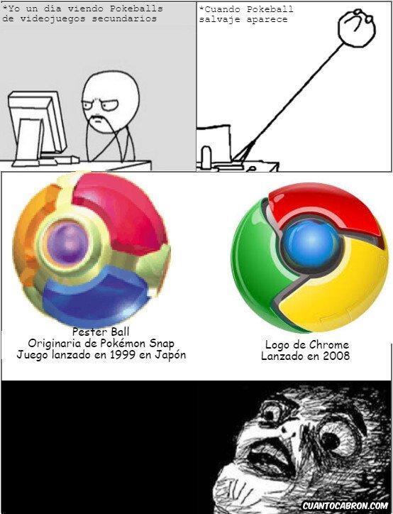 Computer_guy - Si alguien conoce algún origen oficial del logo de Chrome, por favor póngalo en los comentarios