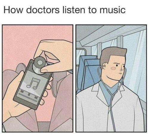 Otros - Así escuchan música los médicos