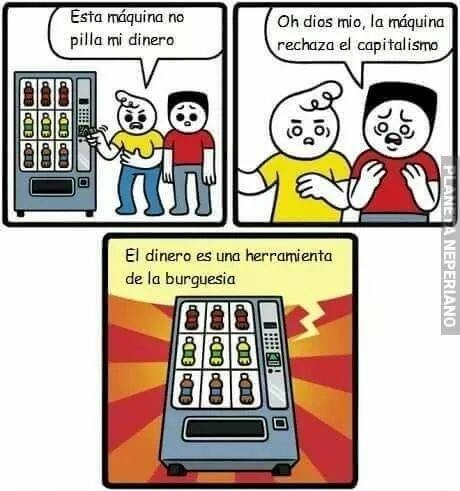 Meme_otros - Tan espendedora como anticapitalista