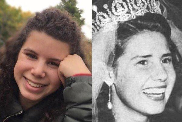Meme_otros - La sobrina de la reina Letizia se parece más a la Duquesa de Alba de joven que a ella...