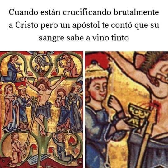 Meme_otros - El pedo que se cogió a costa de Jesús