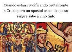 Enlace a El pedo que se cogió a costa de Jesús