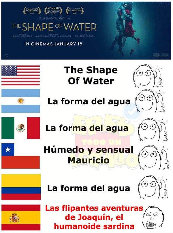 Meme_otros - Las versiones españolas son lo mejor