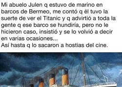 Enlace a Mi abuelo ya sabía lo del Titanic