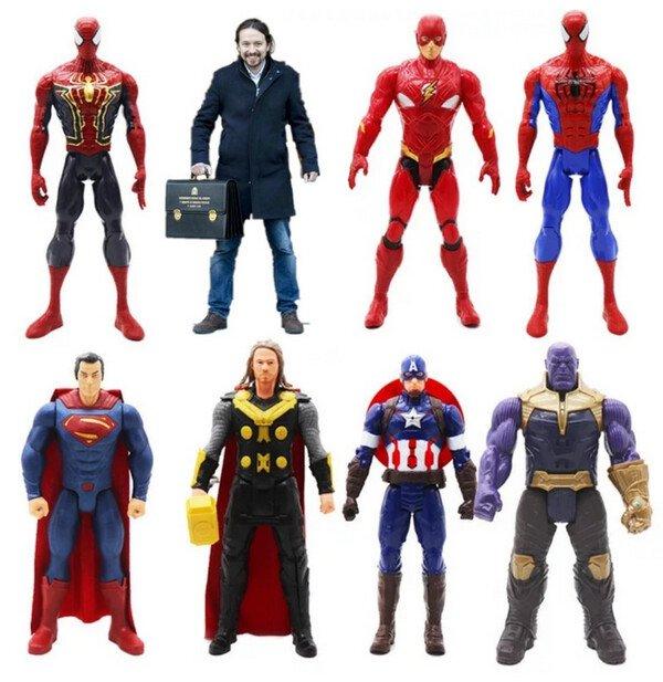 Meme_otros - ¡Qué buena pinta la nueva colección de muñecos Avengers!