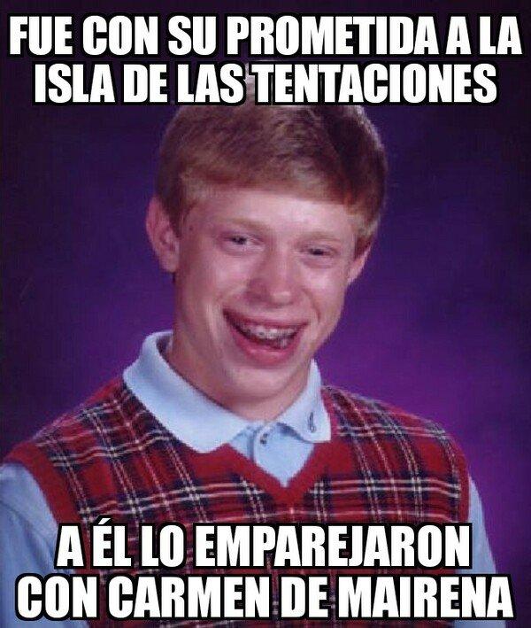Meme_otros - Para él fue la isla de las lamentaciones...
