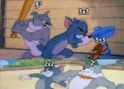 Enlace a Aprende matemáticas con Tom y Jerry