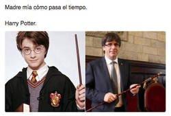Enlace a Parece que fue ayer cuando entró en Hogwarts