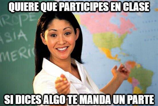 Profesora_cabrona - Creo que las profesoras son un poco bipolares ¿no?