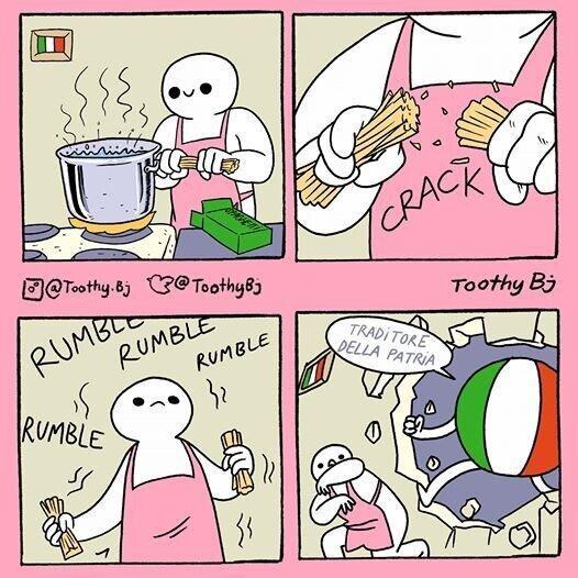 Otros - ¡¡¡Los espaguettis no se rompen!!!