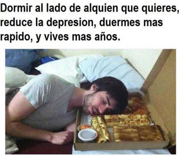 Meme_otros - Dormir junto al amor de tu vida