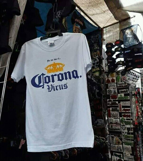 camiseta,Corona,Virus