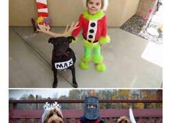 Enlace a Las mejores ideas para disfrazar a niños y perros conjuntamente
