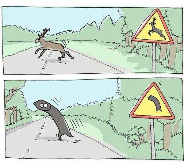 Otros - Si las señales de tráfico tuvieran sentido de verdad