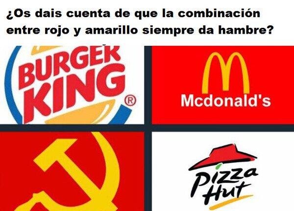 Meme_otros - Algunas combinaciones dan más hambre que otras