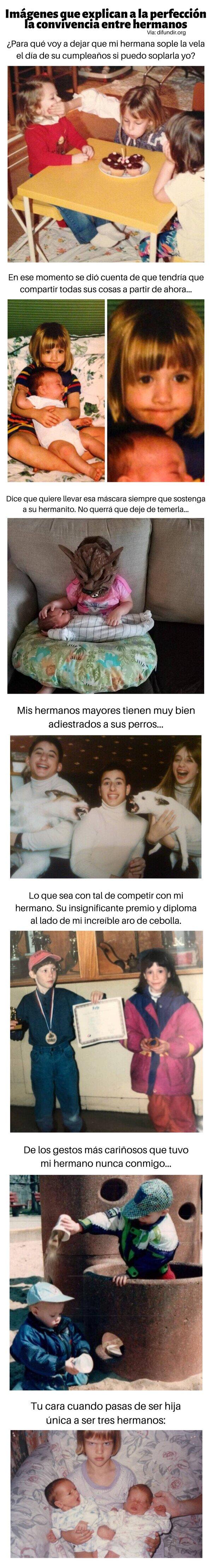Meme_otros - Imágenes que explican a la perfección la convivencia entre hermanos