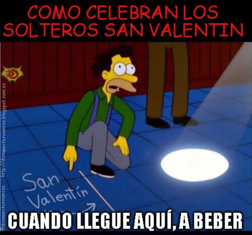 Otros - San Valentín para solteros