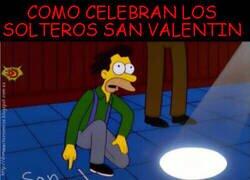 Enlace a San Valentín para solteros