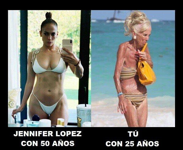 Meme_otros - ¿Cuál es el secreto de Jennifer López?