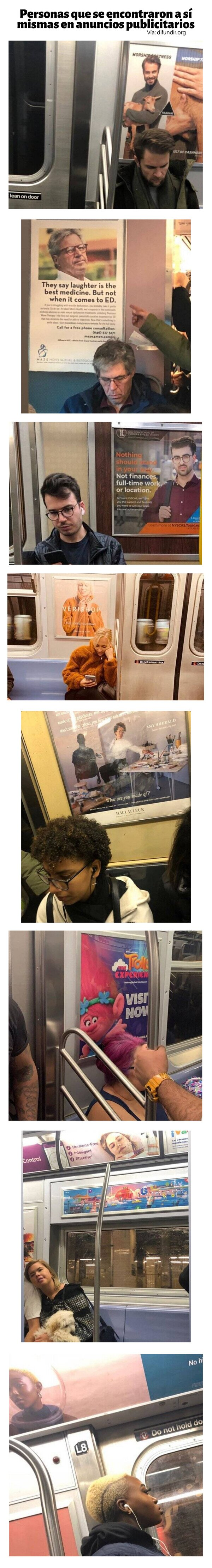 Meme_otros - Personas que se encontraron a sí mismas en anuncios publicitarios