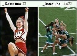 Enlace a Las cheerleaders chinas tienen muchísimo mérito