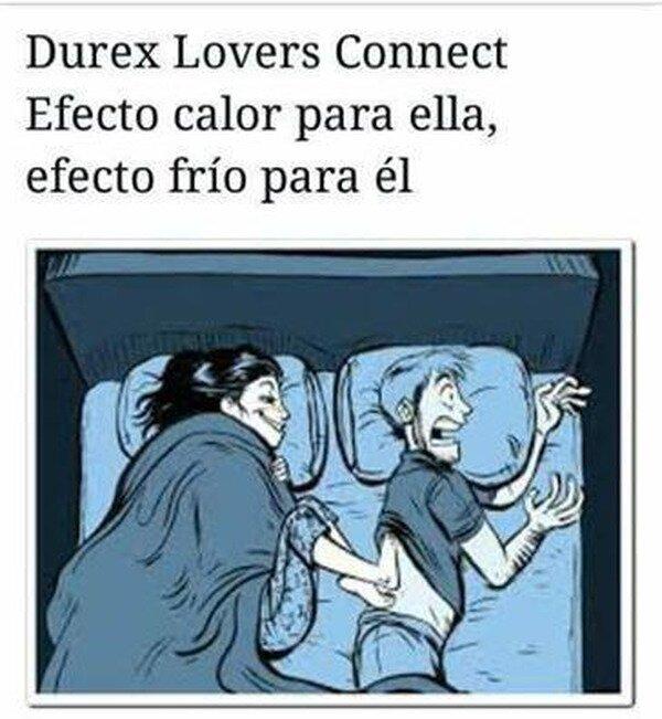 Meme_otros - El Durex Lovers Connect casero