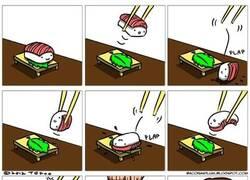 Enlace a ¡Maldito y escurridizo sushi!