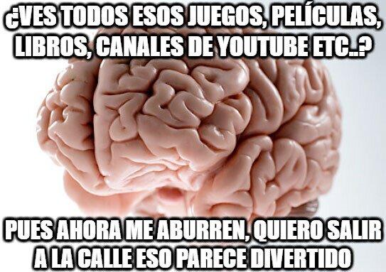 Cerebro_troll - Aburrimiento, no puedes controlarlo