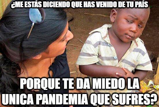 Esceptico_nino_negro - Ébola, sida, tuberculosis, dengue...