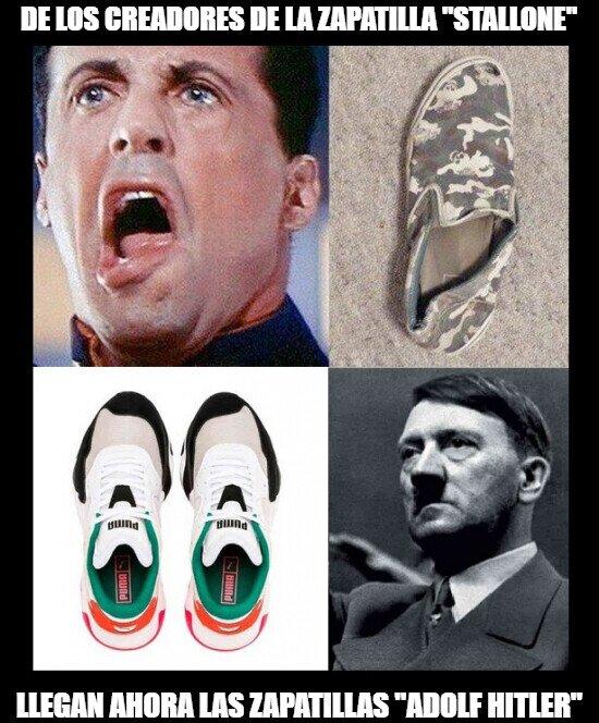Meme_otros - Cada vez se superan más los diseñadores de calzado inspirándose en famosos...