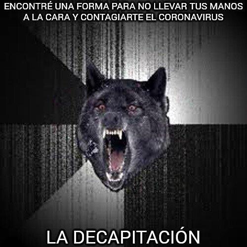 Lobo_demente - La mejor solución