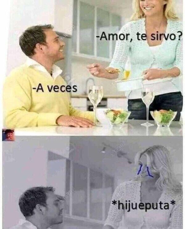 Meme_otros - Soy sincero, amor