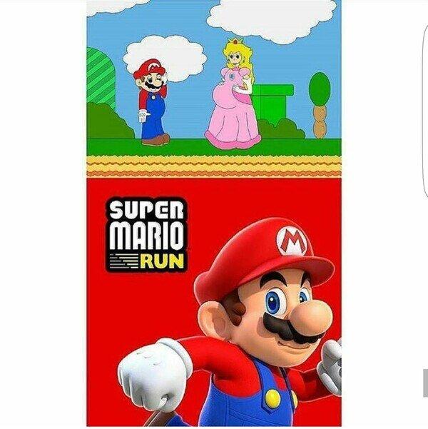 Otros - Mario tenía un motivo para correr