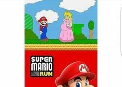 Enlace a Mario tenía un motivo para correr