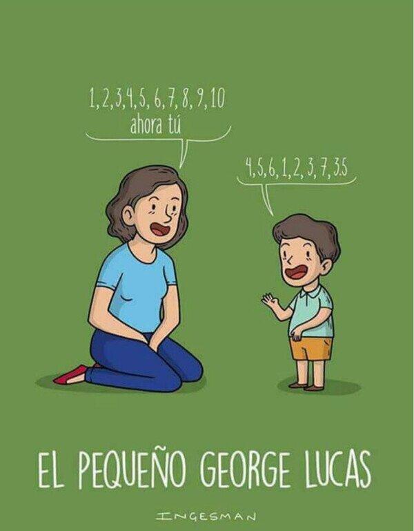 Meme_otros - Los inicios de George Lucas